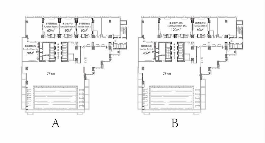 平面图:7楼